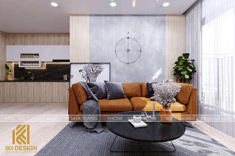 Thiết kế nội thất căn hộ CT4 Nha Trang 73m2 - IKI200078