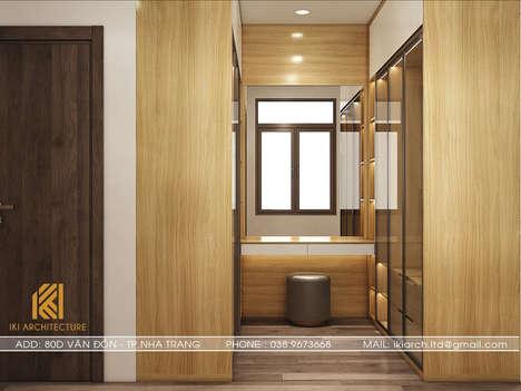 Thiết kế phòng khách nhà phố Nha Trang - IKI200013