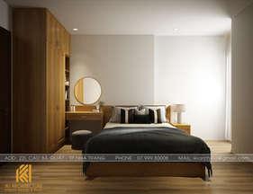 Thiết kế phòng ngủ master căn hộ PH Nha Trang 65m2 - IKI190056