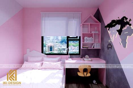 Thiết kế phòng ngủ trẻ em căn hộ PH Nha Trang 62m2 - IKI200069