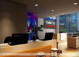 Thiết kế nội thất Shop điện thoại Nha Trang - IKI200011