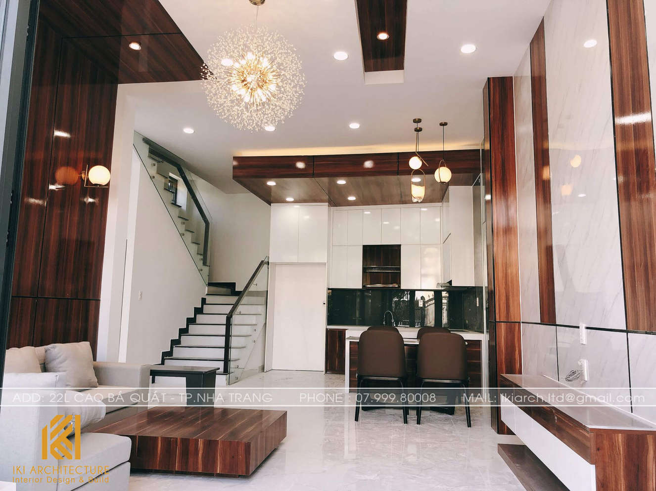 Công trình thực tế nhà phố Gò Cây Sung 150m2 - IKI200035