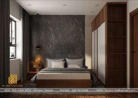 Thiết kế phòng ngủ master CT2 VCN Phước Hải Nha Trang 65m2 - IKI200004