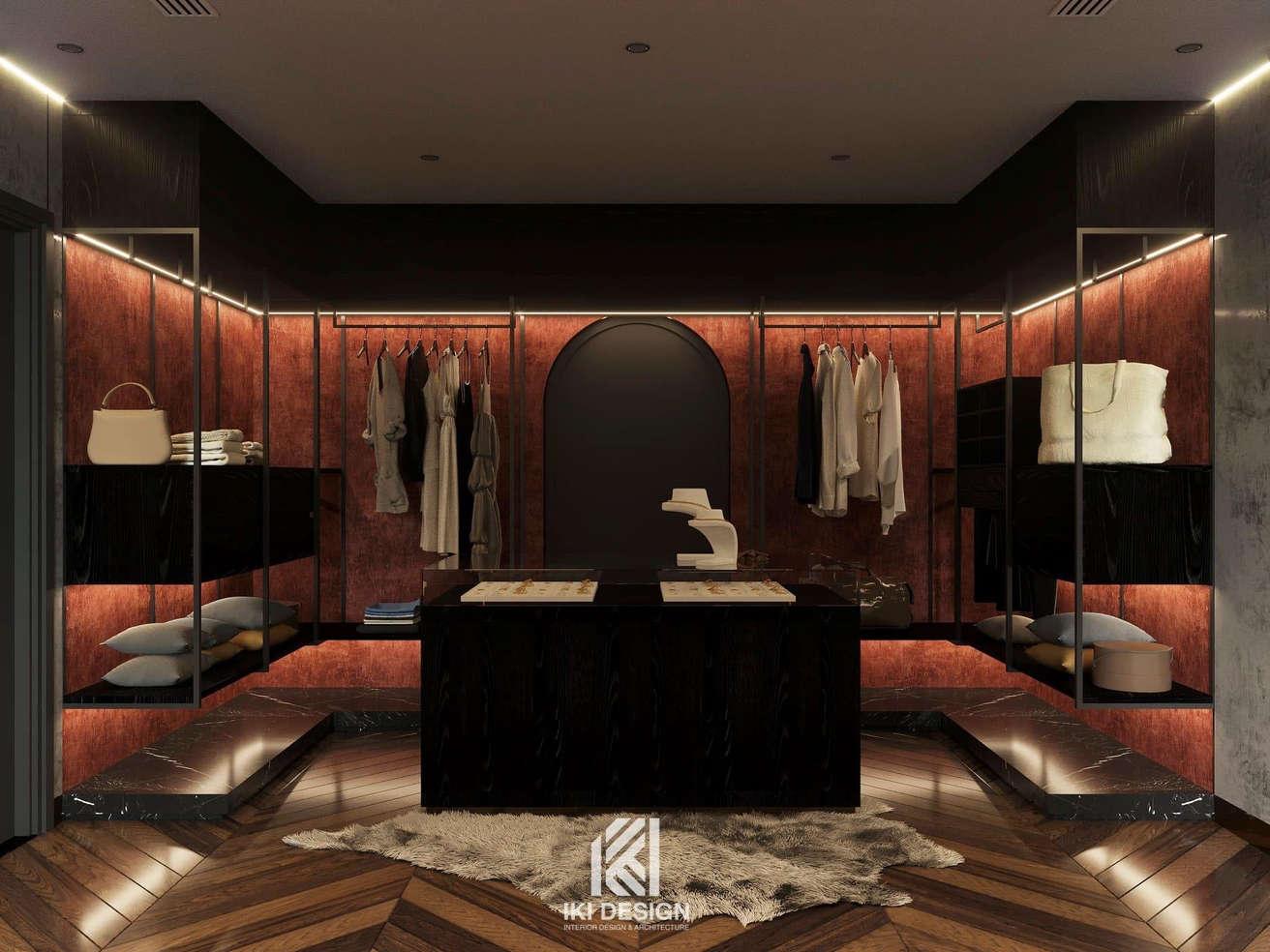 Thiết kế căn hộ chung cư Nha Trang 150m2 - IKI210061