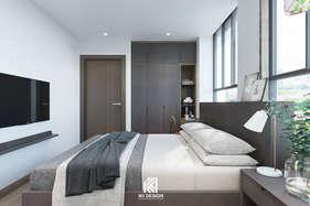 Thiết kế phòng ngủ khách căn hộ Nha Trang 95m2 - IKI200056