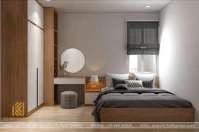 Thiết kế phòng ngủ master căn hộ Hoàng Quân Nha Trang 65m2 - IKI200030