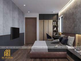 Thiết kế phòng ngủ master căn hộ HUD Nha Trang 70m2 - IKI200000