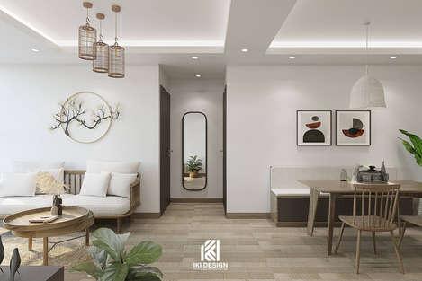 Thiết kế phòng bếp căn hộ Nha Trang 95m2 - IKI200056