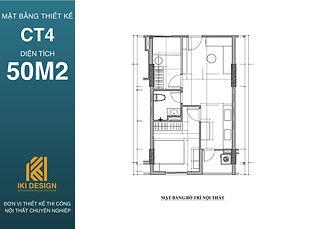 Mặt bằng thiết kế căn hộ CT4 Nha Trang