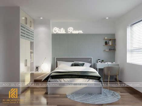 Thiết kế phòng ngủ trẻ em căn hộ CT4 Nha Trang - IKI200042