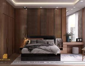 Thiết kế phòng ngủ master nhà phố chợ Đầm Nha Trang 120m2 - IKI200017