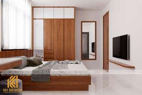 Thiết kế phòng ngủ master nhà phố Nha Trang 200m2 - IKI200056