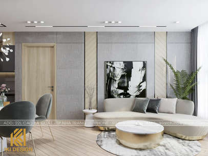 Thiết kế nội thất căn hộ HUD Nha Trang 66m2 - IKI200000