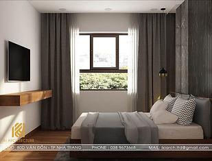 Thiết kế nội thất căn hộ CT2 VCN Phước Hải Nha Trang 70m2 - IKI200004