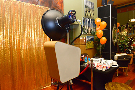 Open Curtain Photo Booth Hire