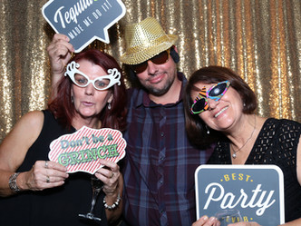 Closed Curtian Photo Booth Hire