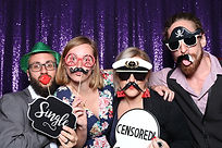 Sequin Photo Booth Curtain