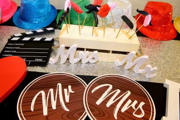 Custom Photo Booth Props