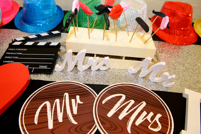 Photo Booth Custom Props Table