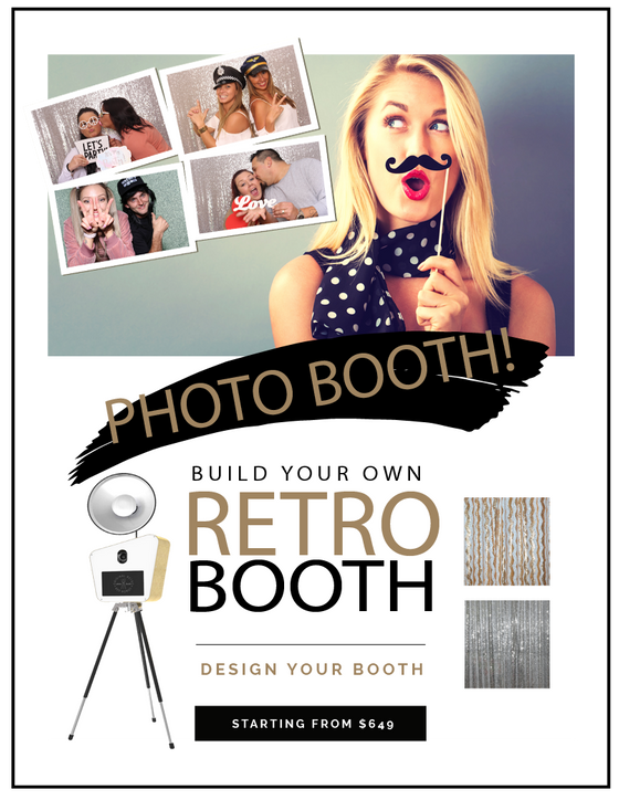 Design your own retro photo booth
