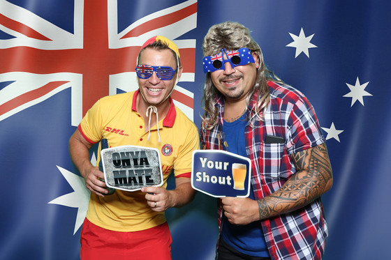 Australia Day Photo Booth!