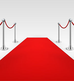 Red Carpet with photo booth hire