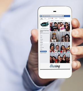 Social sharing with your photo booth hire