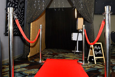 Closed Curtain Photo Booth Hire