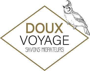 logo savonnerie artisanale doux voyage chamrousse, grenoble, isère