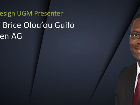 UGM Presenter Spotlight: Stéphane Brice Olou'ou Guifo