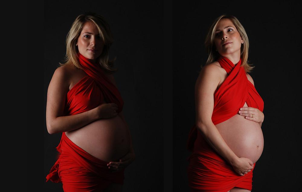 איפור לצילומי הריון סטודיו משק 8