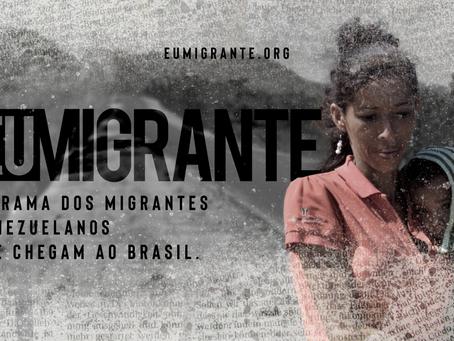 Crise Migratória: Campanha #EuMigrante é lançada nesta quinta-feira (10)