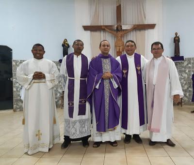 Padre José Maria é acolhido pelos católicos em Buriticupu