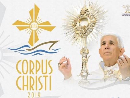 Iniciada programação de Corpus Christi 2019