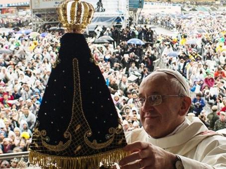 CF: Mensagem do Papa Francisco ao povo brasileiro