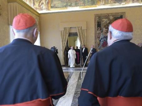 Papa à Roaco: tenho o desejo de ir ao Iraque no próximo ano