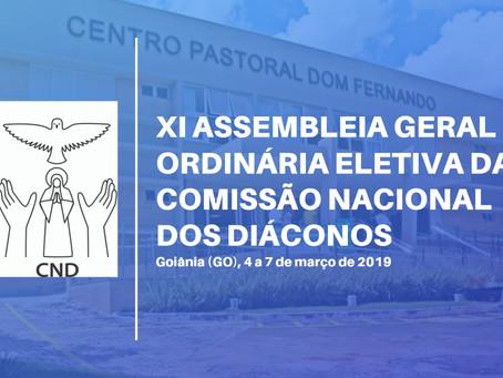 Diáconos Permanentes discutem os desafios da formação na XI Assembleia Geral da CND