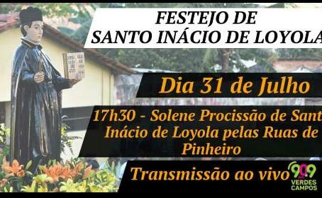 Pinheiro celebra festejo do padroeiro da cidade