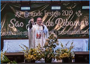 Foto: Padre Cláudio Roberto; Reitor do Santuário do Padroeiro do Maranhão