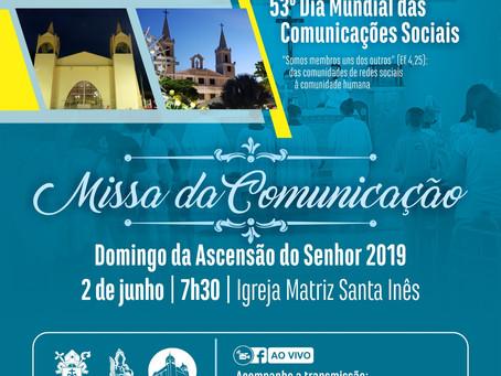 Missa pelo Dia Mundial das Comunicações Sociais