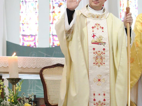Dom Evaldo preside sua primeira missa como bispo de Viana