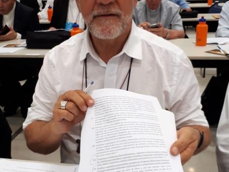 Bispo auxiliar tem emenda aprovada em novas diretrizes da Igreja no Brasil 2019-2023