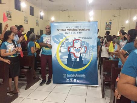 Santas Missões Populares chega a sua 13ª edição na Igreja Matriz Santa Inês