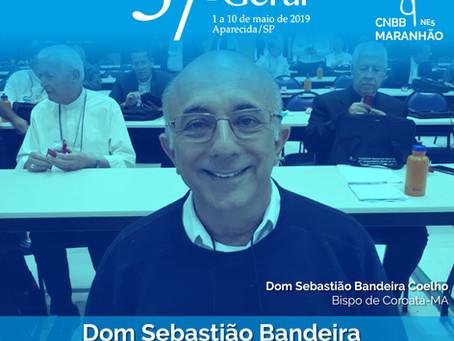 Presidente do Regional Nordeste 5 acolhe novo arcebispo de São Luís, Dom Gilberto Pastana