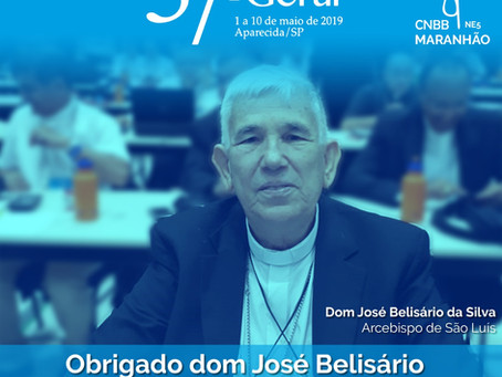 Arquidiocese e CNBB Regional NE 5 agradecem dom José Belisário