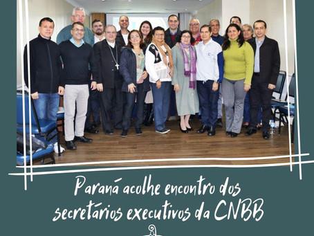 Encontro de secretários-executivos da CNBB