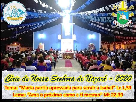 Santuário Diocesano Nossa Senhora de Nazaré celebrá 92° Círio de Nazaré da Vila Estandarte