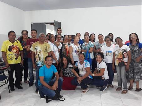 Ministros da Palavra e da Eucaristia da Forania São Benedito, se reúnem em formação em Rosário