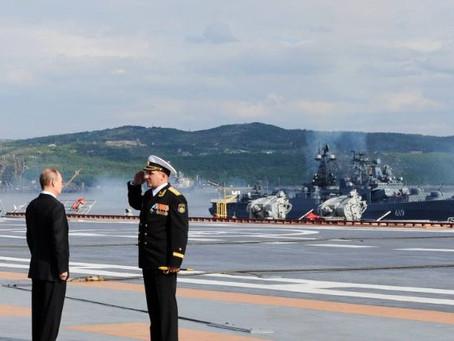 Os pêsames do Papa Francisco pelas vítimas do submarino russo