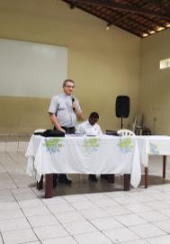 Bispo de Viana tem sua primeira reunião oficial